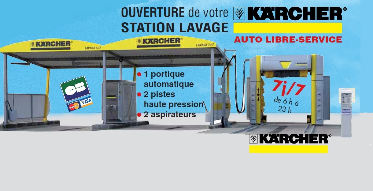 Station de lavage KARCHER